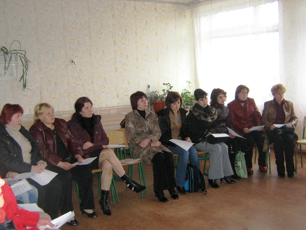 Батьківські збори в Білокуракинській ЗОШ№1